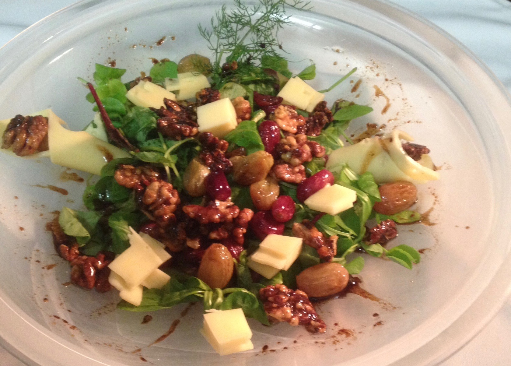 Grape-walnut-salad