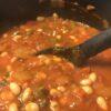 Haricot, Tomato and Harissa Sauce